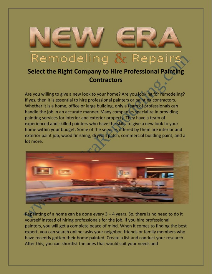 select the right company to hire professional n.