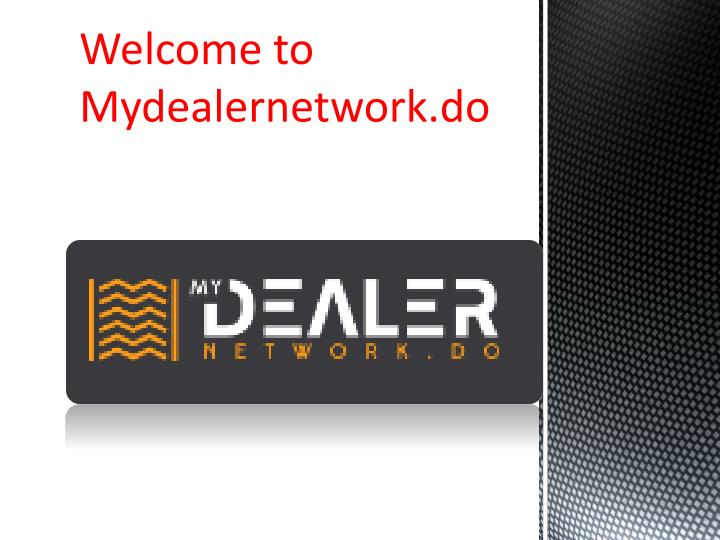 welcome to mydealernetwork do n.