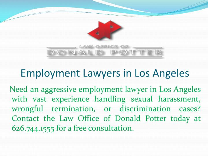 employment lawyers in los angeles n.