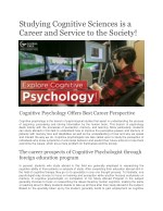 studying cognitive sciences is a career