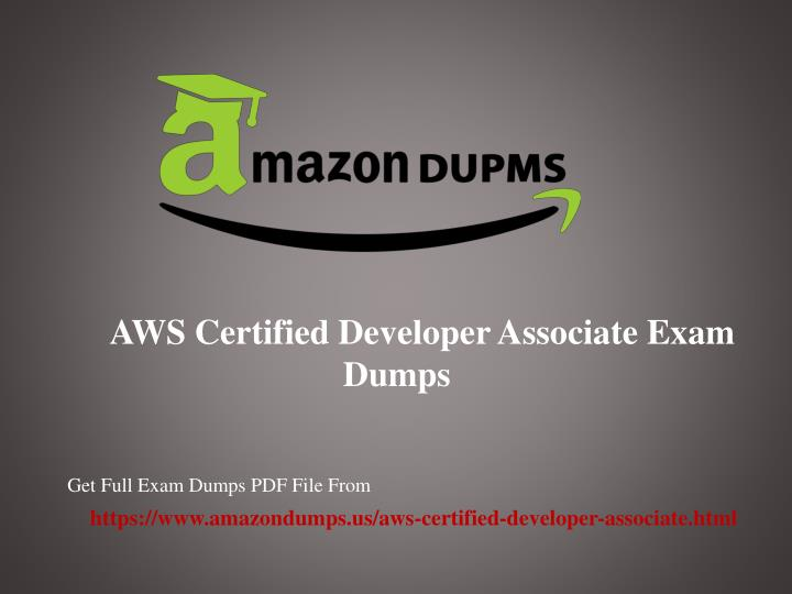 aws certified developer associate exam dumps n.