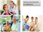 home care services in california