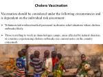 cholera vaccination 1