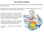 the risks for travellers