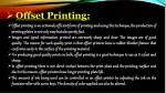 offset printing offset offsetprinting printingis