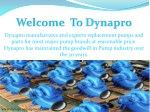 dynapro manufactures and exports replacement