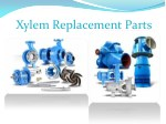 xylem replacement parts