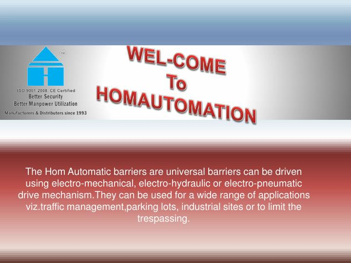 wel come to homautomation n.