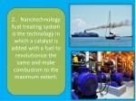 2 nanotechnology fuel treating system