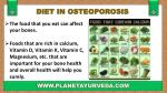 diet in osteoporosis