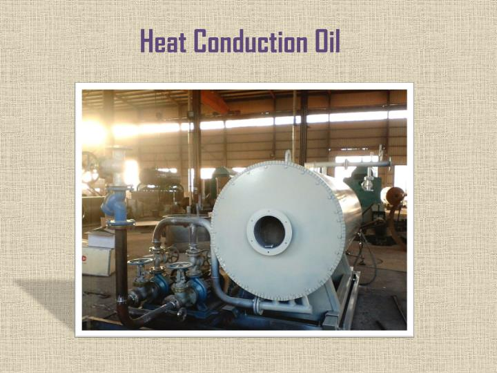 heat conduction oil n.