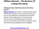 william almonte the business of college recruiting 6
