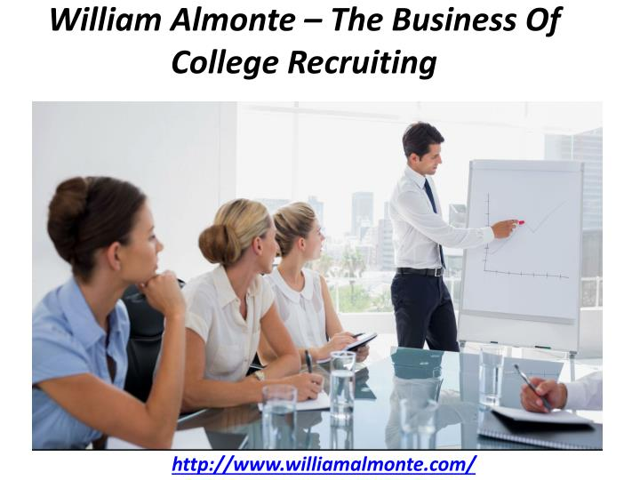 william almonte the business of college recruiting n.