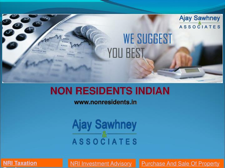 non residents indian n.