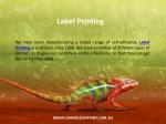 label printing 1