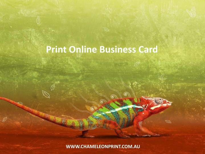 print online business card n.