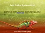 print online business card 1