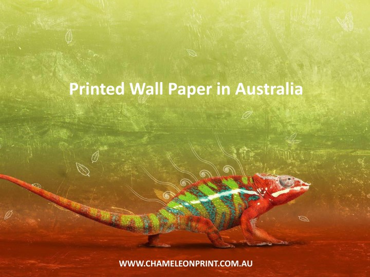 printed wall paper in australia n.
