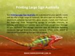 printing large sign australia 1