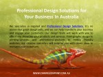 professional design solutions for your business 1