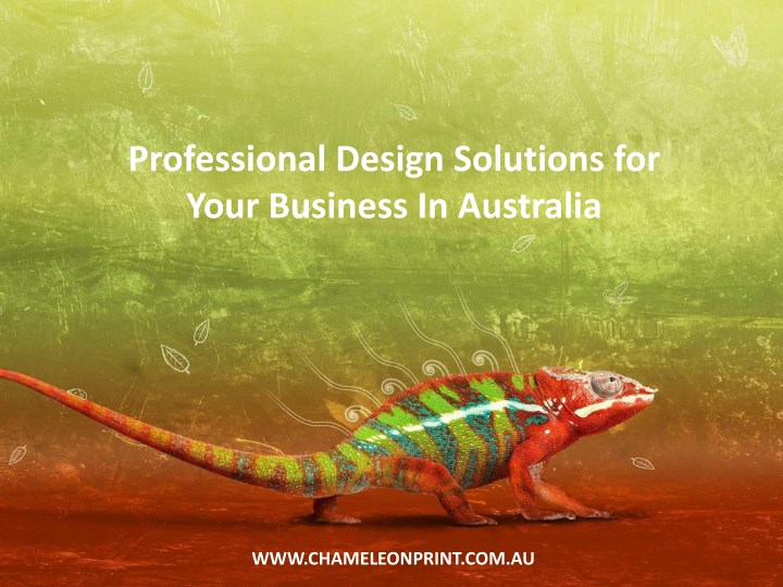 professional design solutions for your business n.