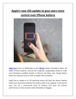 apple s new ios update to give users more control
