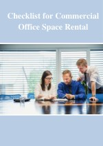 checklist for commercial office space rental