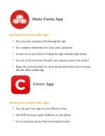 state farm app