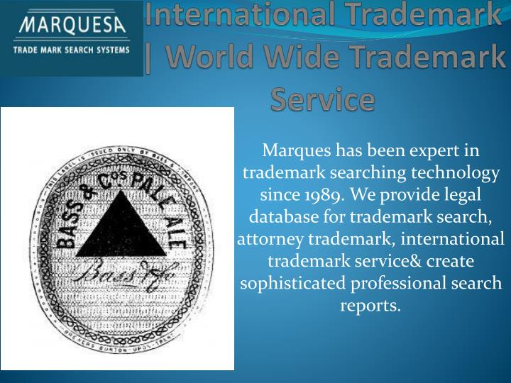 international trademark world wide trademark service n.