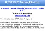 it 200 study education specialist 9