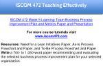 iscom 472 education specialist 23