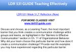 ldr 531 guide education specialist 24