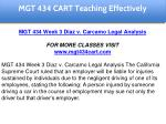 mgt 434 cart education specialist 14