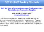 mgt 434 cart education specialist 24