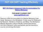 mgt 434 cart education specialist 9