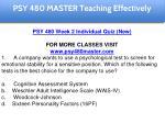 psy 480 master education specialist 8