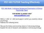 psy 480 tutor education specialist 4