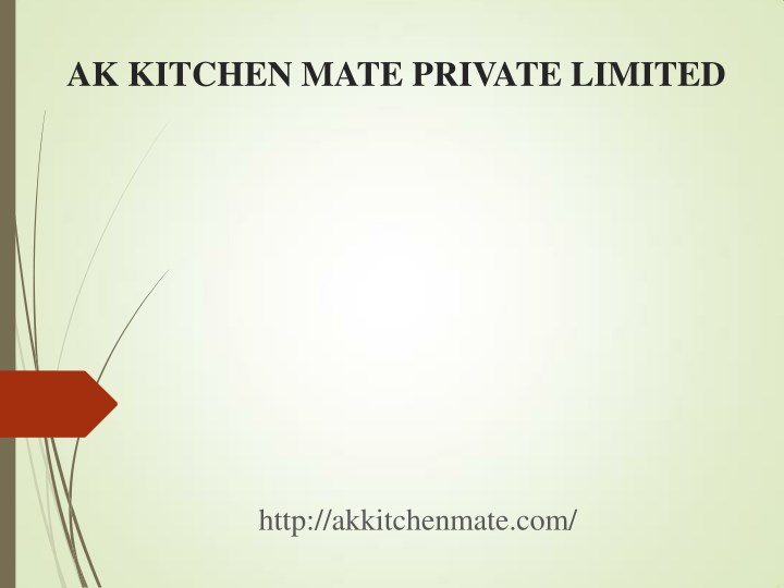 ak kitchen mate private limited n.