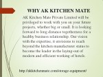 why ak kitchen mate ak kitchen mate private