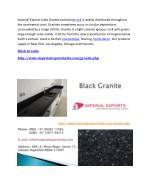 imperial exports india granite containing rock