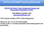 psych 645 rank education specialist 21