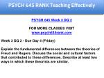 psych 645 rank education specialist 9
