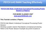 psych 640 rank education specialist 4