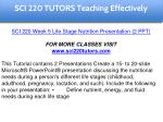 sci 220 tutors education specialist 33