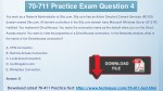 70 711 practice exam question 4