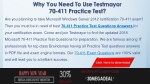 why you need to use testmayor 70 411 practice test