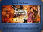 jazzy b film career