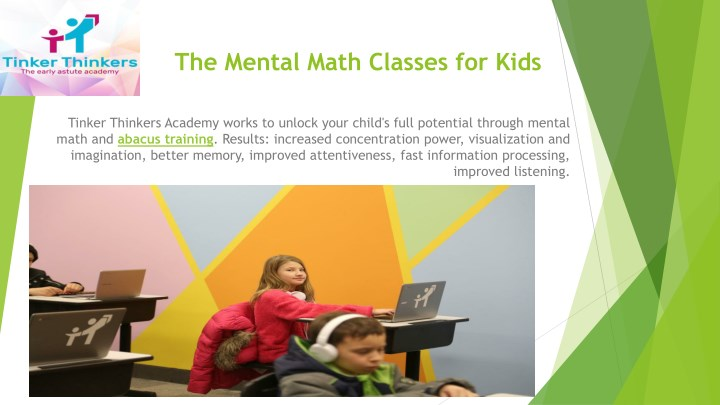 the mental math classes for kids n.