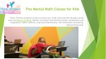 the mental math classes for kids