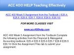 acc 400 help teaching effectively 14